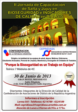 Jornadas Cordoba 2013
